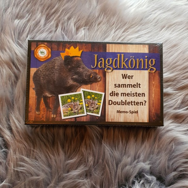Jagdkönig Memo Spiel