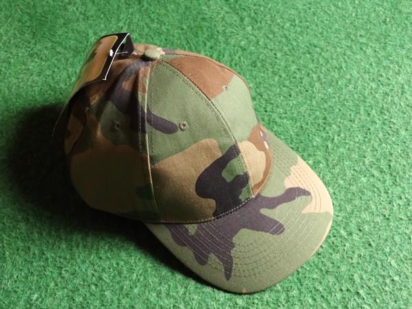 US-Capi militärfarben, größenverstellbar, grün-braun