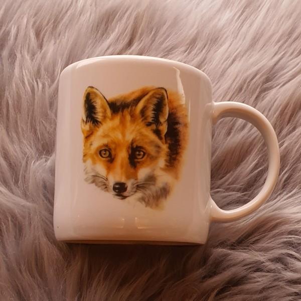 Tasse mit Fuchsaufdruck