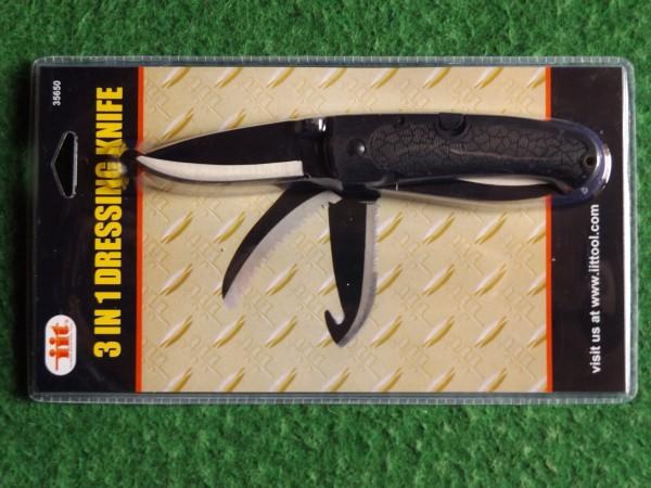 3 in 1 Dressing Knife