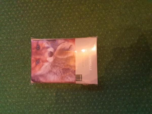 Kissenhülle mit Fuchsaufdruck 45x45cm